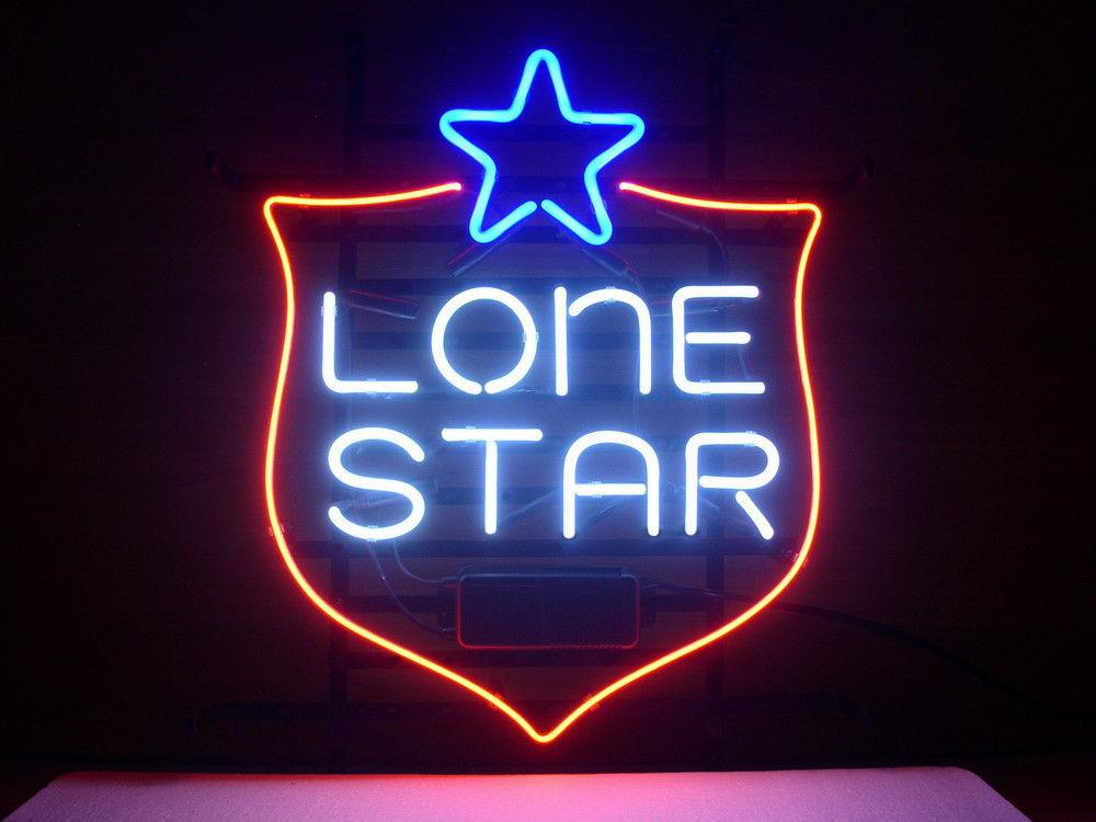 NEW LONE STAR TEXAS BEER LAGER REAL GLASS NEON LIGHT BEER BAR PUB SIGN Neon Signs LONE STAR TEXAS Online with $254.61/Piece on Huangxiaxingu0027s Store ... & NEW LONE STAR TEXAS BEER LAGER REAL GLASS NEON LIGHT BEER BAR PUB ... azcodes.com