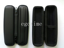 Wholesale Cigarette Bags - DHL E cig bag for ego e-cig case E cig bag electronic cigarette Zipper Carry Case for CE4 CE5 atomizer clearomizer EVOD ego twist single kit