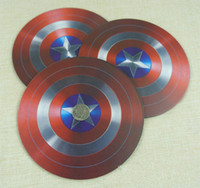 Wholesale Captain America Cup - Wrist Rests America captain frosted mouse pads round foam mouse cup mat insulation cup mat