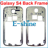 Wholesale S4 Back Plate - For Samsung Galaxy S4 i9500 Inner Middle Plate Housing Rear Back Chassis Frame Replacement White Color Free Shipping