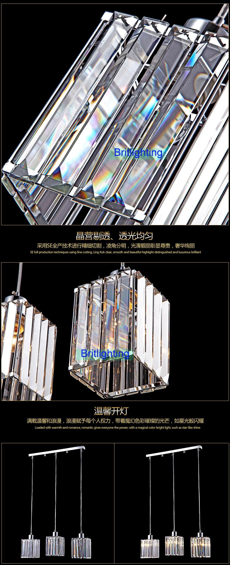 moderne salle à manger pendentif lumières pendentif contemporain éclairage moderne pendentif lampe LED suspension éclairage cyrstal suspension livraison gratuite