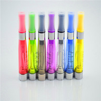 Wholesale Ego V6 Clearomizer - 50pcs CE4 clearomizer ego CE4 newest cartomizer CE4 for ego-ce4 ego CE4 ecig VS VMAX KTS VAMO v6 chiyou pannzer e-cigarette