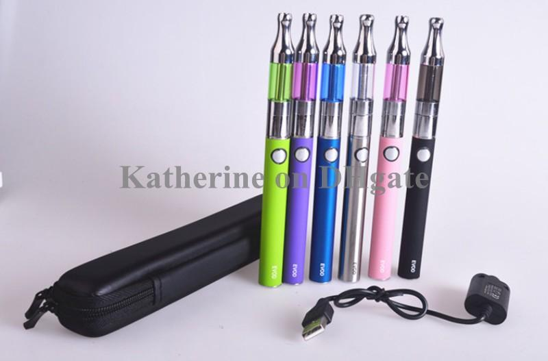 Mini Protank Starter Kits Single Kits EVOD Batería 650mah 900mah 1100mah para cigarrillo electrónico C cigarrillo Kit Cig Varios colores Instock