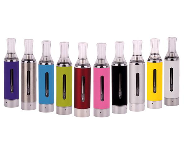 MT3 No Cotton Wickless Bottom Heating Coil 2.4ohm Detachable EVOD Atomizer tank with Visible Window Transparent Inhaler ego ego-t ego-w ecig