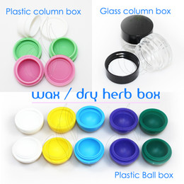 Wholesale Electronic Cigarettes E Juice - Wax dry herb portable storage box for electronic cigarette wax e-juice dry herb vaporizer pen herbal vaporizer vapor cigarettes cigs kits