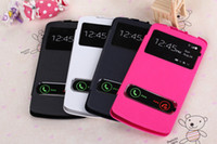 Wholesale Chinese Phone Buy - TOP PU Visible Windows Mobile S920 Cell Phone Cases Case For Lenovo S820 S890 S920 S960 Cover Accessories Bags wholesale