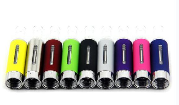 Evod MT3 Clearomizer BCC MT3 Kanger Atomizer 2.4ml Bottom Coil Tank Cartomizer for EGO-C EGO-W EGO-T Series E-Cig various colors