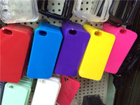 Wholesale Wholesale Best Iphone 4s Cases - Colorful TPU best Quality case for iphone4 4s TPU soft case for iphone5 5s shockproof, snowproof and dirtproof Candy colors case for iphone