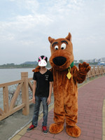 Wholesale Scooby Doo Mascot Costumes - Scooby Doo mascot costume Scooby - Doo clothing dog mascot costume free shipping