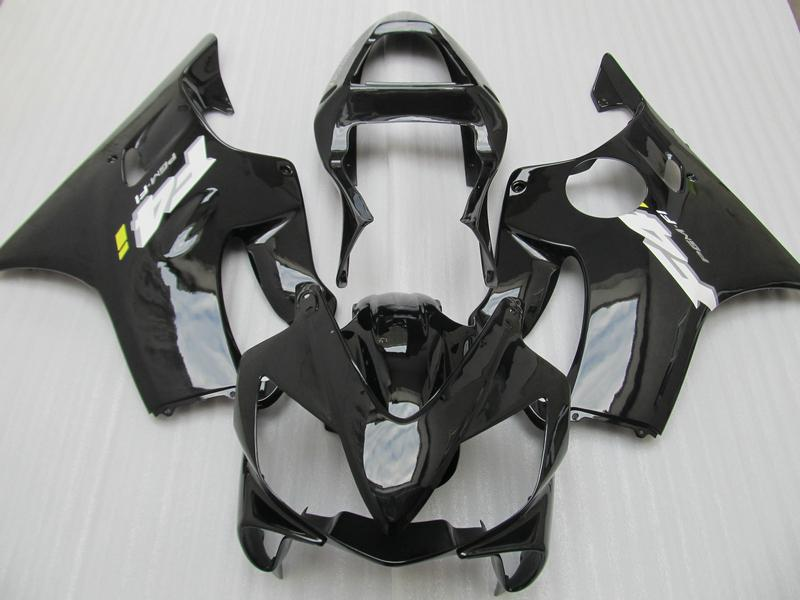 Carénage pour Honda CBR600 F4i 2001 2002 2003 CBR 600F4I 01-03 2001-2003 KIT FAIRING NOIR, 2 cadeaux