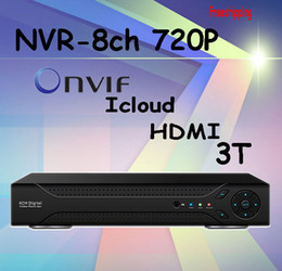 Wholesale High Definition Video Surveillance - 2016 rushed new eu dvr 8ch nvr recorder mobile surveillance onvif 2.0 h.264 hdmi high definition 720p network video ip for camera