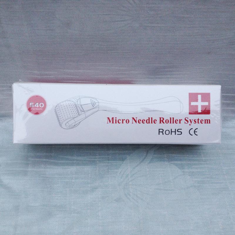 MRS 540 Needles derma roller Micro Needle Skin Roller Dermatology Therapy Microneedle Dermaroller,10 size derme roller