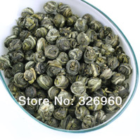 regalos de perlas chinas al por mayor-Promoción 2016 Cuidado de la Salud flor del jazmín Té Premium perla del jazmín del té 100g Guelder mayor del té verde té chino + regalo secreto