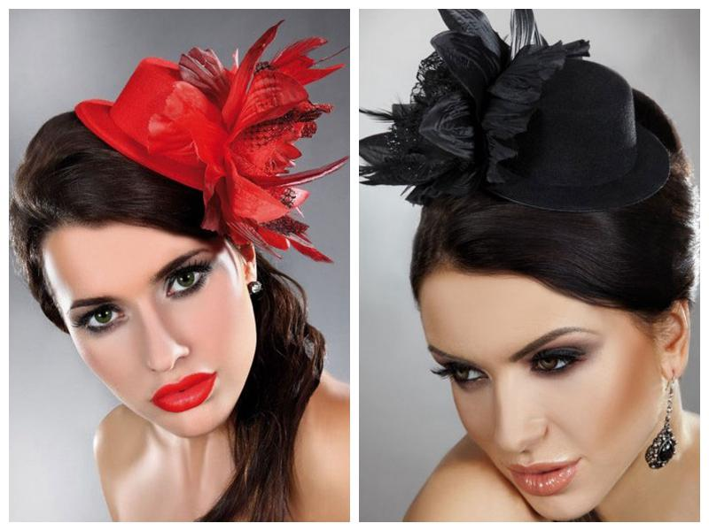 Mother Of The Bride Hats For Short Hair: Multi Color Bridal Headdress Bride Jewelry Headdress