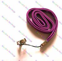 bunte string lanyards großhandel-E-Zigarette EGO STRING Halskette Kette mit Ring Bunte Ego Lanyard Seil CE4 CE5, CE6 MT3 GS H2, VIVI NOVA Ego-T, Ego-W, Ego-C Ego-F