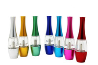 Wholesale Tumbler Clearomizer - Colorful Flower Vase Tumbler Tank Atomizer Clearomizer Cartomizer with Replacement Bottom Coil Electronic Cigarette for eGo-t 510 e cigs