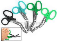 Wholesale Emt Shears Scissors - Nurse EMT Medical 6 inch Utility Bandage Medical Scissors Shears