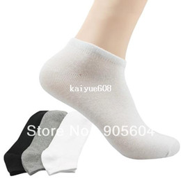 silicon socks 2019 - Hot Selling!High Quality Unisex Bamboo Low Cut No Show Footie Silicon Gel Nonslip Men's Loafer Socks Boat Women's Socks