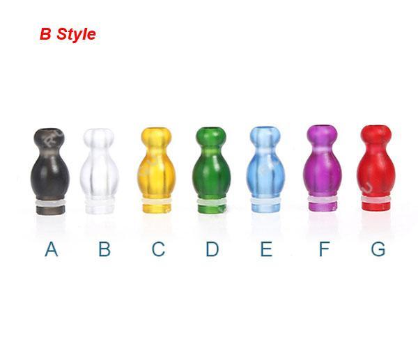 Fabrikspris 510 Plast Tips Ming Style Drip Tip Gourd 510 Ego Atomizer Munstycken för CE4 CE5 Vivi Nova DCT e cig tankar Clearomizer