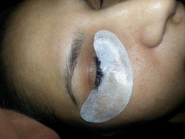 Fusselfreies Gel Eye Pad Patch für Wimpernverlängerung