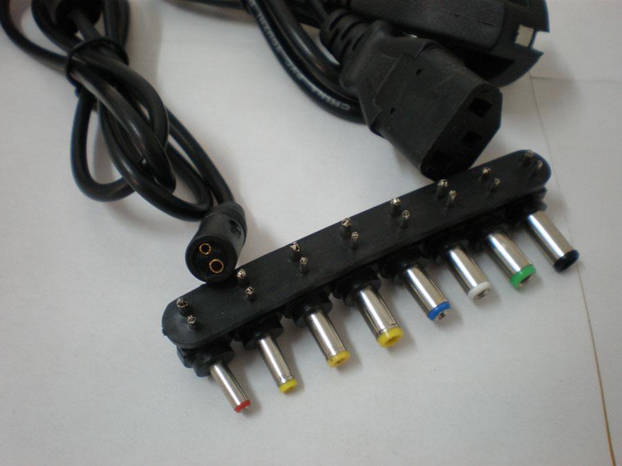 شحن مجاني حار 96W العالمي المحمول الدفتري 15V-24V AC محول الطاقة شاحن مع 8 الموصلات