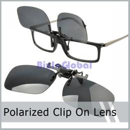 Wholesale Sunglasses Holder Clips - 5 X Sunglass Clip On Flip Up Polarized Sunglasses Clip Fashion Sunglass Holder with retail box