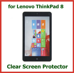 10 stücke Klar LCD Displayschutzfolie für Lenovo ThinkPad 8 Tablet PC 8,3 zoll mit Kamera Loch Schutzfolie von Fabrikanten
