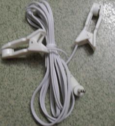 20pcs / lot électronique médical clip oreille plomb fil / câble / ligne pour thérapie Tens / EMS unité de massage machine. DC2.5MM 1.2M livraison gratuite ? partir de fabricateur
