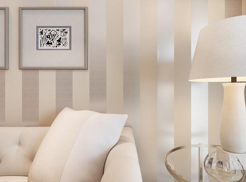 non woven flocking striped wallpaper bedroom living room sofa rh dhgate com