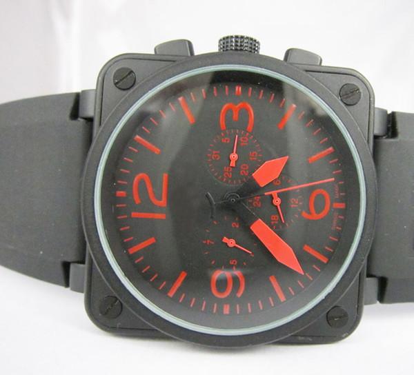 Hombres de lujo Relojes mecánicos automáticos Mejores marcas Día negro de goma Fecha Suiza Vintage Cuadrado Antiguo Vestido para hombre Reloj de pulsera Caja de precios bajos