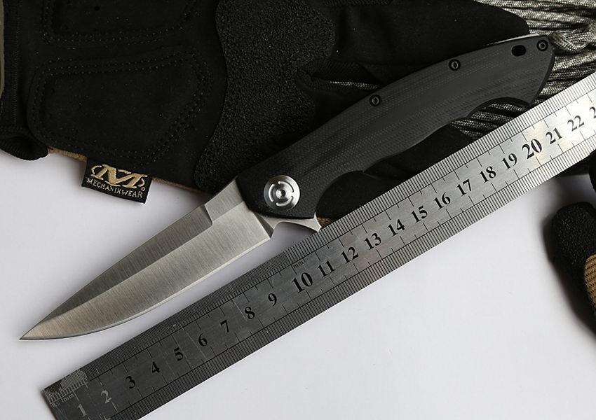 Zt 0999: ADAI ZT0999 Tactical Flipper Folding Knife 9cr18mov Blade