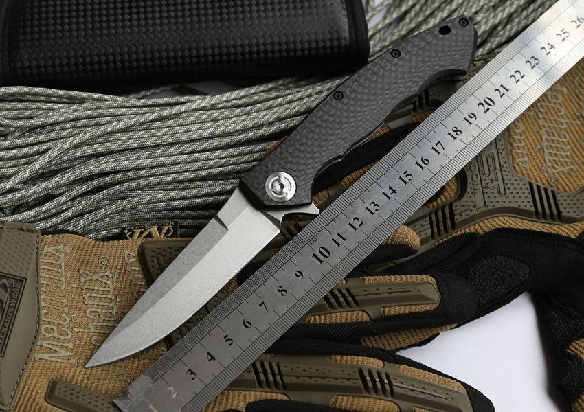 Wholesale ZT0999 Tactical Flipper Knives S35VN Blade Steel