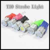 Wholesale Super Led W5w - 4x T10 COB LED 24SMD 2.4W Super Bright Car Light 194 168 2825 W5W Parking Backup Reverse For Brake Lamp
