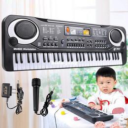 جديد وصول 61 مفتاح متعدد الوظائف الموسيقى الإلكترونية لوحة المفاتيح البيانو الكهربائي مع ميكروفون هدية مجانية ShippingWholesales