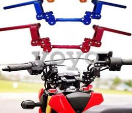 Бесплатная доставка новый универсальный переоборудование мотоцикл руль мотоцикл модификации выше сегрегированных рукоятка для Yamaha Honda от Поставщики мотоцикл руль руль мотоцикл