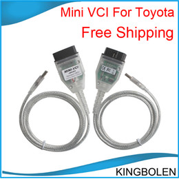 Wholesale Vci Tis Techstream - MINI VCI FOR TOYOTA & Software TIS Techstream V8.10.021 Cable Free Shipping