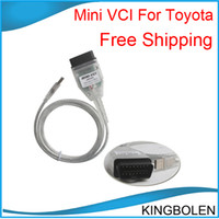Wholesale vci toyota - Super toyota mini vci , mini vci for toyota ,TIS Techstream V8.10.021 Free shipping to the whole world