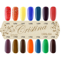 Wholesale Cristina Gel Color - (Choose 3 Colors) Cristina Fashion 2014 New 14 Color Temperature Change UV Gel Polish 15ml 0.5oz Nail Gel for Nail Free Shipping
