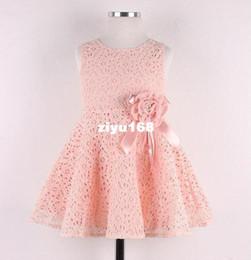 Wholesale Kids Noble Fairy Dress - Free Shipping! 2014 Summer New girls dress,bow princess dress,Children lace dress,kids noble fairy dress high quality