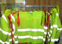 Wholesale High Vis - Scania Yellow Hi Vis High Viz Visibility Vest Waistcoat Jacket Reflective Safety Clothing Reflective Vest Jacket High Visibility Vests