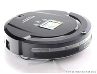 Wholesale Global Working - Global Warranty Robotic Cleaner 4-in-1 LCD Screen,Touch Button,Schedule Work,Virtual Wall,Auto Charging as irobot scooba 880 Cleaning Robot