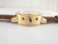 freie taube großhandel-Heißer luxus schweizer männer sportuhr top marke himmel mondphase gold tauchleder automatische mechanische mode herren armbanduhren freies verschiffen