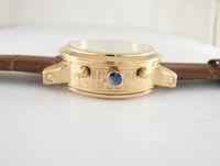 erkekler için swiss otomatik saatler toptan satış-Sıcak lüks İsviçre erkekler spor İzle top marka gökyüzü ay fazlı altın dalış deri otomatik mekanik moda erkek bilek saatler ücr ...