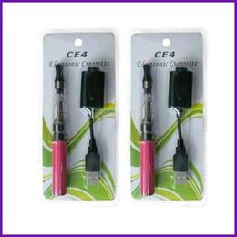 Ecigarette Ce4 Kit Canada - Wholesale - DHL Freeshipping e Ciga Ego Kit kits 650mah 900mah 1100mah ecigarette set Blister Pack EGO CE4 Atomizer Cartomizer MQ500