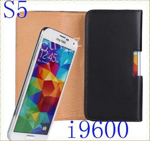 Flip PU Cintura in pelle Clip fondina custodia cover Samsung Galaxy S5 S6 S7 EDGE iphone 6 7 6s plus
