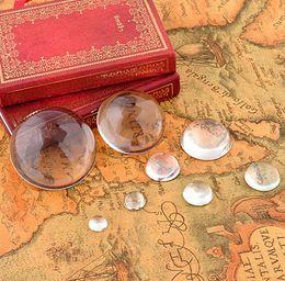 10 mm, 12 mm, 16 mm, 18 mm, cabochons en verre transparent rond, cabochon bombé, sans textile, transparent, parfait pour les bijoux faits main - Top quality ? partir de fabricateur