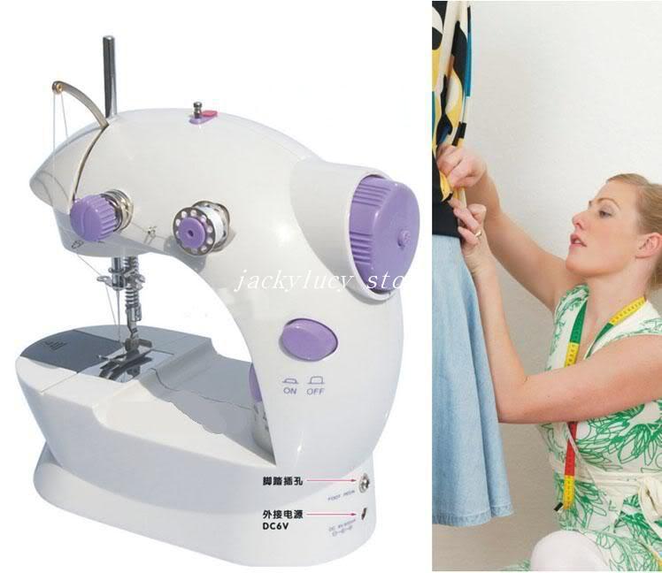 Mini macchina cucire elettrica al minuto piccola famiglia trasformatore sartorially della cinghia - 202 alimentatore multifunzionale che spedice liberamente
