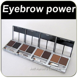 Power Palette Canada - 2 colors eyebrow powder cake for eye beauty,4 colors versions available makeup eye brow power palette wholesale