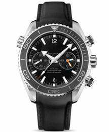 Cuir de mer en Ligne-Montre en cuir de luxe de marque suisse en cuir pour homme mécanique automatique Sea Planet Ocean Co-Axial Mode professionnelle Homme Montres Sport Date