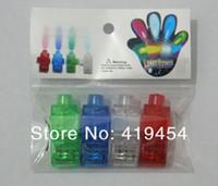 Wholesale Cristmas Gifts - Cristmas Gift Colorful Laser Light laser finger light LED Finger Light Laser Finger Lamp Ring Lamp 4000pcs(1bag=4pcs)1000bag